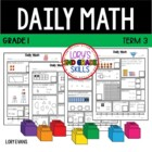 Daily Math -Common Core - Grade 1 - Term 3