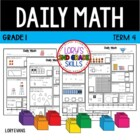 Daily Math- Common Core - Grade 1 - Term 4
