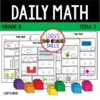 Daily Math- Common Core - Grade 3 - Term 3