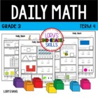 Daily Math- Common Core - Grade 3 - Term 4