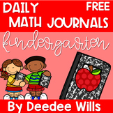 Daily Math Journals CCSS FREE