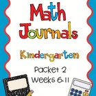 Daily Math Journals: Packet 2