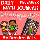 Daily Math Journals for December-CCSS aligned