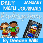 Daily Math Journals for January