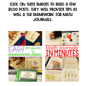 Daily Math Journals for May