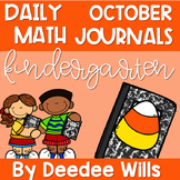 Daily Math Journals for October-CCSS aligned