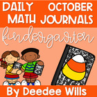 Daily Math Journals for October