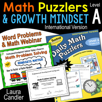 Daily Math Puzzlers Level A (International)