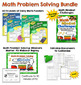 Daily Math Puzzlers Word Problems Combo