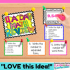 Daily Math Review { Number a Day - 4 a Day}
