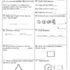 Daily Math Review and Quizzes - 2nd Grade - 2nd Quarter