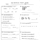 Daily Math Review and Quizzes - 2nd Grade - Try for FREE!