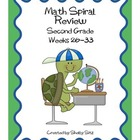 Daily Math Spiral Review, Week 26-33