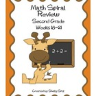 Daily Math Spiral Review, Weeks 18-21