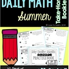 Daily Math Summer Take-Home Booklet Third Grade