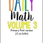 Daily Math Three