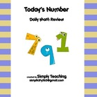 Daily Math - Today's Number