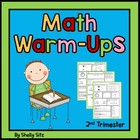 Daily Math Warm Ups for Second Grade-Second Trimester