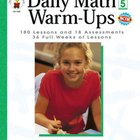 Daily Math Warm-ups Grade 5 Weekly Quizzes
