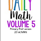 Daily Math Winter Warm Up