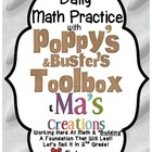 Daily Math With  Poppy & Buster's Toolbox & Ma's Creations