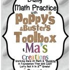 Daily Math With Poppy&#039;s &amp; Buster&#039;s Toolbox &amp; Ma&#039;s Creation