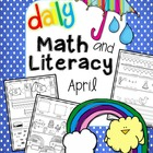 Daily Math and Literacy Spring {April} Common Core