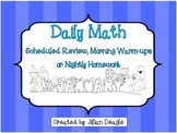 Daily Math for 2nd or 3rd Grade: January Edition