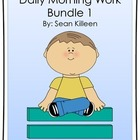 Daily Morning Work Bundle 1