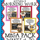 Daily Morning Work Mega Pack~ Language Arts &amp; Math ~ Commo