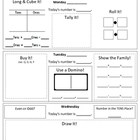Daily Number Worksheet