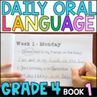 Daily Oral Language (DOL) Book 1: Aligned to 4th Grade CCSS