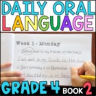 Daily Oral Language (DOL) Book 2: Aligned to 4th Grade CCSS