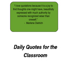 Daily Quotes for the Classroom