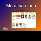 Daily Routine Spanish Vocabulary PowerPoint