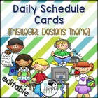 Daily Schedule Cards - Large Variety