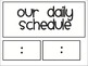Daily Schedule Cards for Lower Ele
