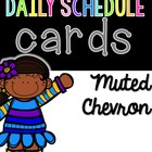 Daily Schedule Cards--with clip art or with clocks