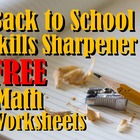 Daily Skills Sharpener: Welcome Back! (Back to School Math