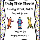 Daily Skills Sheets Unit 3 Reading Street Grade 2, 2011 Series