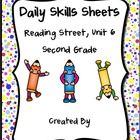 Daily Skills Sheets Unit 6 Reading Street Grade 2, 2011 Series