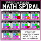 Daily Spiral Math Review for All Year