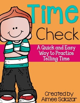Daily Time Check (Common Core Aligned)