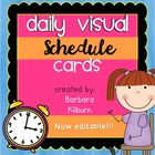 Daily Visual Schedule Cards