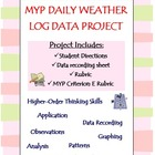 Daily Weather Log Graph Analysis Project (MYP Criterion E