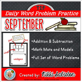 Daily Word Problem Practice:  September