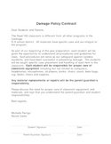 Damage Policy- Read 180