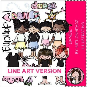 Dance LINE ART bundle