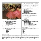 Dancers in Pink by Edgar Degas (Test Prep)