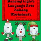Dancing Lights ELA Holiday Worksheets